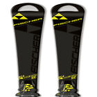 Fischer 15 - 16 RC4 Worldcup SC Skis w/RC4 Z12 Bindings NEW !! 160cm