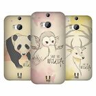 HEAD CASE DESIGNS SAVE THE WILDLIFE HARD BACK CASE FOR HTC ONE M8