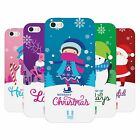 HEAD CASE DESIGNS CHRISTMAS TIDINGS SOFT GEL CASE FOR APPLE iPHONE 5 5S SE