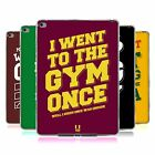 HEAD CASE DESIGNS FUNNY WORKOUT STATEMENTS SOFT GEL CASE FOR APPLE iPAD AIR 2