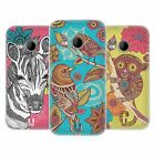 HEAD CASE DESIGNS FANCIFUL INTRICACIES SOFT GEL CASE FOR HTC ONE MINI 2