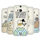 HEAD CASE DESIGNS WORLD TRAVELLER SOFT GEL CASE FOR HTC ONE M8 M8S