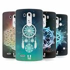 HEAD CASE DESIGNS SNOWFLAKES SOFT GEL CASE FOR LG G3