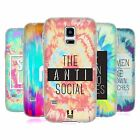 HEAD CASE DESIGNS TIE DYE CRY SOFT GEL CASE FOR SAMSUNG GALAXY S5 MINI