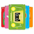 HEAD CASE DESIGNS GADGET GIOCATTOLO COVER RETRO RIGIDA PER APPLE iPAD MINI 4