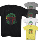 Herren T-Shirt Boba Fett Star Vintage Look Hero Wars Film Comic Neu S-5XL BF4216