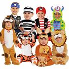 BOYS GIRLS BABY TODDLER CUTE BABYGROW FANCY DRESS COSTUME ONESIE NOVELTY OUTFIT
