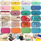 Stationery Pen Holder Storage Pencil Case Travel Cosmetic Makeup Bag Pouch Purse