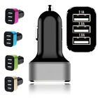 Universal Triple USB Car Charger Adapter 3 Port 2A 2.1A 1A for Mobile Cell Phone