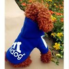 Pet Clothes Dog Puppy Warm Sweater Hoodie Coat Jacket Costume Bearty XS-XXL Gift