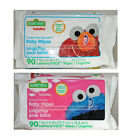 *SESAME STREET Hushables BABY WIPES Cushiony Thick RESEAL 90 Count *YOU CHOOSE*