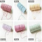 Lot of 4 Color Cotton Baker's Twine Rope String Cord for Gift Wrapping Packaging
