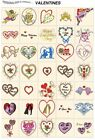 VALENTINES DAY. CD or USB machine embroidery designs files most formats