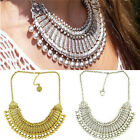New Vintage Choker Chunky Statement Bib Pendant Women Fashion Necklace Jewelry