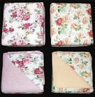 3Pc Laura Ashley Lidia Roses or Peony Garden Reversible Q...
