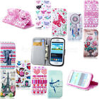 For Samsung Galaxy Trend Duos S7562 Money Wallet Flip Leather Soft Case Cover