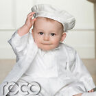 Boys White Romper, Christening Outfit, Baby Boys Romper, Christeming Romper