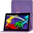 """Colorful PU Leather Case Cover Stand For 10.1"""" Lenovo Tab2 A10-70F Tablet+Film"""