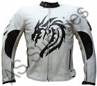 """DRACO"" neXus Dragon Leather Biker Motorcycle Jacket - All sizes!"