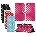 Polka Dot Fashion Leather Folio Flip Case Cover for iPhone6 4.7 New Reliable