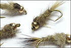 Fly Fishing Gold Bead Head Natural Hares Ear (GBN3) FREE UK POSTAGE