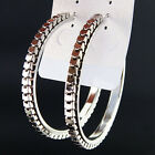 Wholesale Lots 12Pair Big Mix Silver Gold Chains Hoop Earrings For Women Jewelry