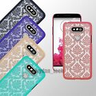 Vintage Damask Slim Thin Hard Case Clear Chic Matte Phone Cover for LG G5