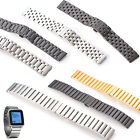 KR-NET 22mm Stainless Steel Metal Watch Band Strap for Pebble Time Steel
