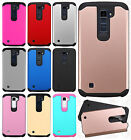 For LG K10 HARD Astronoot Hybrid Rubber Silicone Case Phone Cover Accessory
