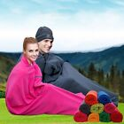 10 -20C / 50 - 68F Camping Travel Hiking Ultra-soft Envelope Fleece Sleeping Bag