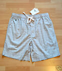 Lacoste Woven Sleep Short Bermuda Pajama Shorts Grey Size M L XL