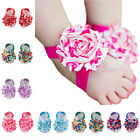 Baby Shoes Toddler Barefoot Foot Flower Sandals for 0-18M   TBUS