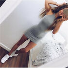 UK WOMENS SLIM SEXY BANDAGE BODYCON DRESS LADIES PARTY PENCIL DRESS SIZE 6-16