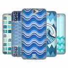 HEAD CASE DESIGNS SEA WAVE PATTERNS SOFT GEL CASE FOR HTC ONE A9