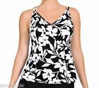 NEW Miraclesuit Womens Tankini Bathing Suit Top Swimsuit Size 8/10/12/14/16