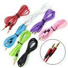 3.5 mm Jack Male to Male Audio Stereo Aux Extension Cable For iPhone iPod DJNG