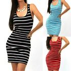 New Womens Ladies Sexy Bandage Bodycon Sleeveless Evening Sexy Party Mini Dress