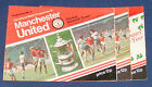 MANCHESTER UNITED HOME PROGRAMMES 1977-1978