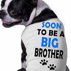 Soon To Be A Big Brother Dog Shirt Doggy Announcement Clothing
