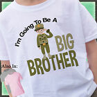 ARMY I'M GOING TO BE A BIG BROTHER AGAIN SHIRT PERSONALIZED MILITARY CAMO