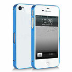 Slim Aluminium Alloy Metal Bumper Frame Phone Case For Apple IPhone 4 4S 4G 4GS