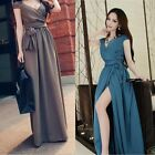 Women Sexy Summer Sleeveless Evening Party Beach Dress Long Maxi Chiffon Dress