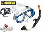 Set Maske LOOK Technisub + Schnorchel Devil mit Ventil SeaStar
