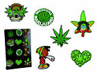 Cannabis Rubber Magnet - Funny Weed Marijuana Leaf Joint Fridge Decoration