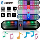 LED Pill Portable Wireless Bluetooth Speaker FM Super Bass For iPhone LG Tablet