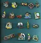 Mickey Mouse Minnie Donald Duck Goofy Pluto Fab Five Splendid Disney Pin