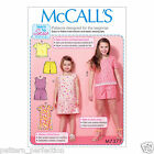 McCall's 7377  Easy Sewing Pattern to MAKE Top Dress Romper Shorts Beginner Tips