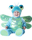 Dinky Dragonfly Blue & Green Baby Bug Infant Halloween Costume