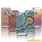 Ombre Indian Mandala Case Cover For iPhone 4S 5S SE 6 6S Plus ClearTPU TotemSkin