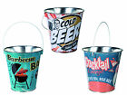 Vintage Style Ice Bucket - Wine Coolers Drinks Beers BBQs Chilled